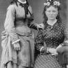 Angelina (Jackson) Sabin and sister.