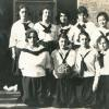 Garwin High School Girls Basketball Team, 1920.